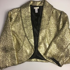 Gold Shrug Jacket
