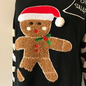 d0930befd9892 Holiday Traditions Sweaters - Gingerbread Oh Snap! Ugly Christmas Sweater!