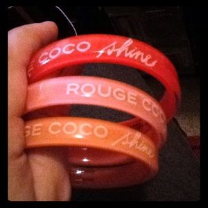 Chanel vip 3 coco rogue bracelets
