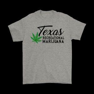 Tops - Texas Recreational Marijuana T Shirt