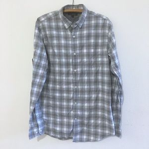 Banana Republic Luxe Flannel Slim Fit Large Tall