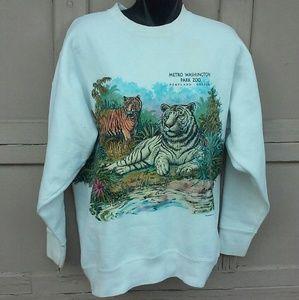Vintage Portland Zoo Animal Sweatshirt
