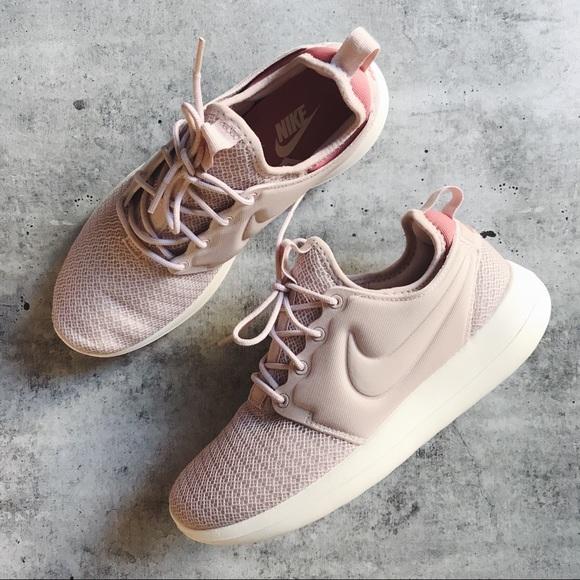 Nike Blush Pink Roshe Two Sneakers