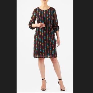 New Eshakti Button Sheath Dress 24W