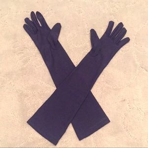 Silky opera gloves