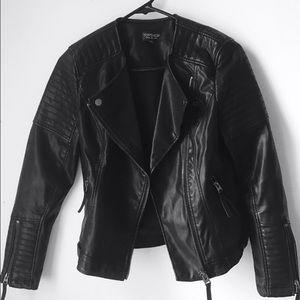 🔥 Black Leather Jacket