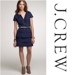 J. Crew ruffled Carly dress