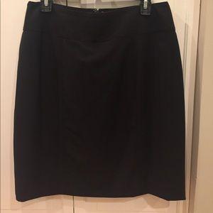 Women's Worthington Black Dress Skirt