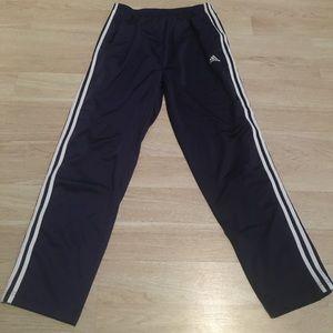 adidas Pants - Adidas Vintage Navy Snap Button Tear Away Pants L