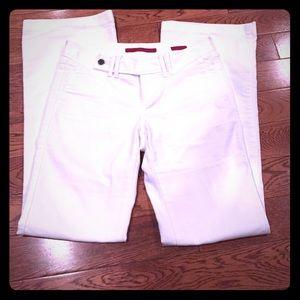 Banana Republic White Jean Premium Trouser