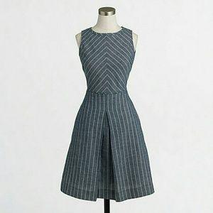 J. Crew Chevron Striped Dress