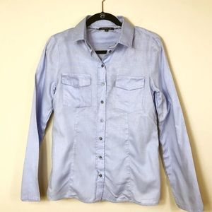 {Patrizia Pepe Firenze} Light Blue Button Down