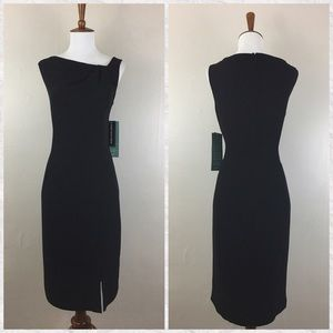 Jones New York Sleeveless Sheath Dress