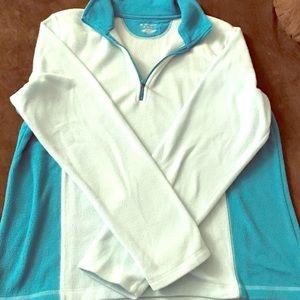 Tek Gear, Teal and Blue Pull-Over Fleece Sweater