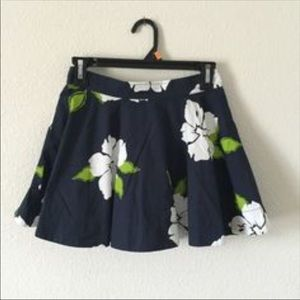 Hollister XS-S Hibiscus Skirt NWOT BUNDLE