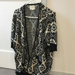 Women's patterned cardigan from forever 21