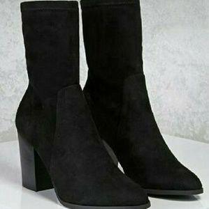 ----Make an offer---- Forever 21 Sock Boots
