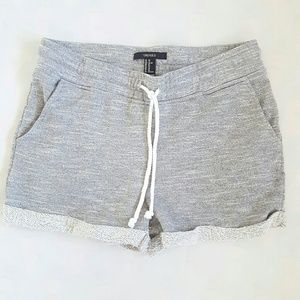 Forever 21 grey sweat shorts