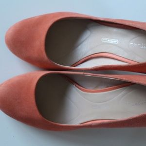 Rockport Salmon Colored Heels