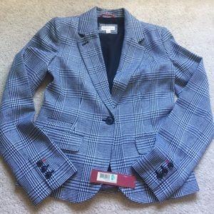 New! Houndstooth blazer jacket size 2 XS
