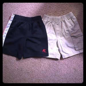 2 pairs boys size 3T .