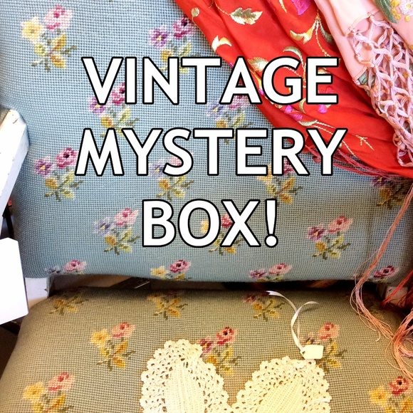 Vintage Other - 5lb Surprise GLAMOUR Box - Bday?!