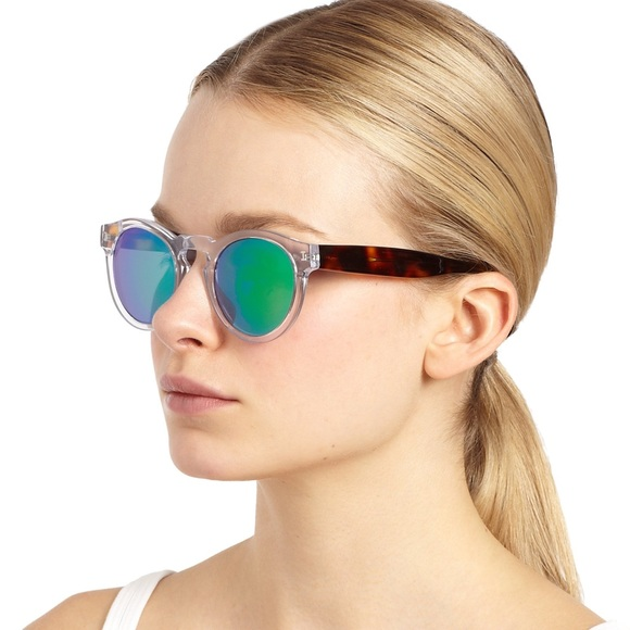 2dc5d0761e9 Illesteva Accessories - Illesteva Leonard Pink Mirrored Sunglasses