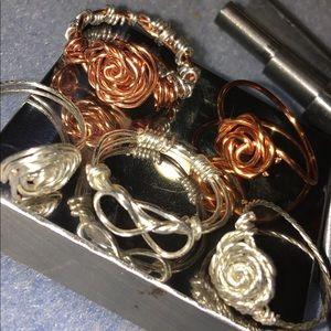 Handmade designed rings