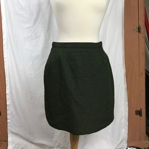 Dresses & Skirts - Dark olive army green fitted skirt