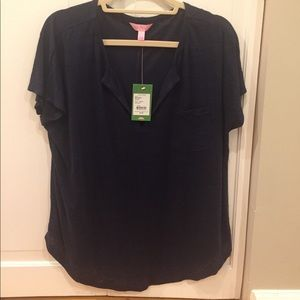 NWT Lilly Pulitzer Duval Top size Large