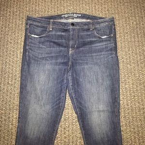 American Eagle Outfitters medium wash skinny jeans