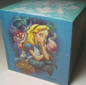 DISNEY Alice In Wonderland Mad Cheshire Note Cube