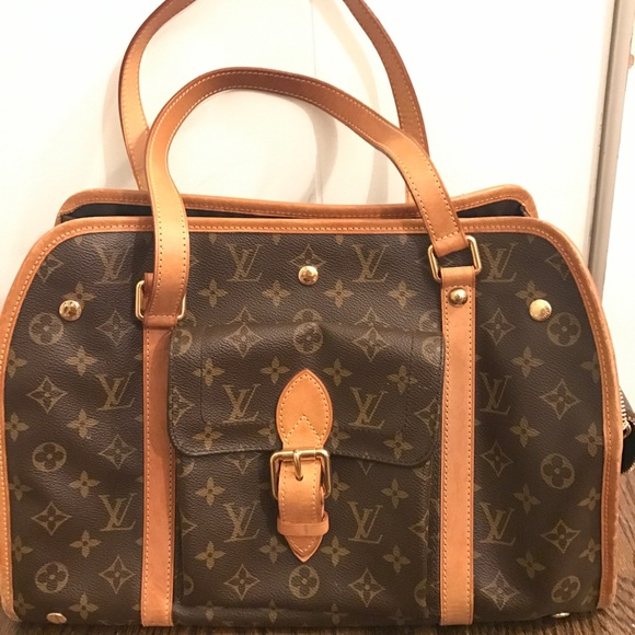 482f3e421cf6 Louis Vuitton Handbags - LouisVuitton Baxter PM Monogram Canvas Dog Carrier