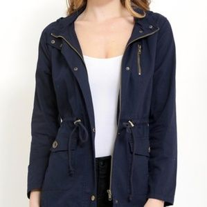 Lightweight Utility Jacket, Navy