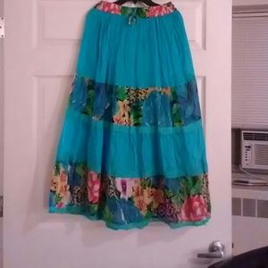 Indian long skirt