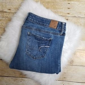 American Eagle Size 14 Skinny Stretch Jeans