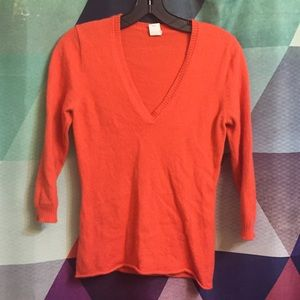 100% Cashmere sweater from J. Crew