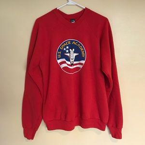 Vintage NASA Space Academy  Crewneck Sweatshirt