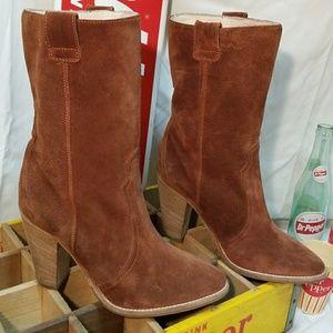 Aquatalia Florence Suede Boots