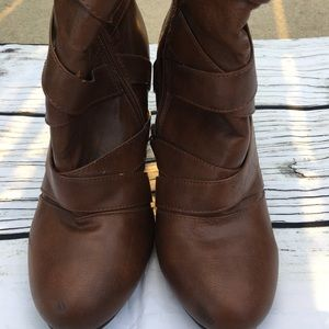 Boots Wedge forever 21