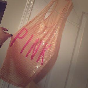 Victoria's Secret glittery tank