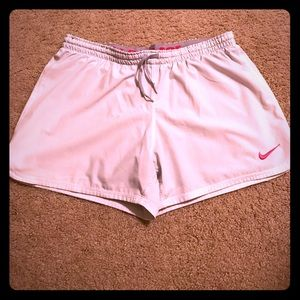 Nike Women's Shorts with Built in Compression - M