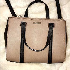 Kate spade brown beige black bag purse