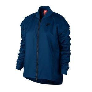 • Nike • Navy Tech Zip Up Jacket Medium New