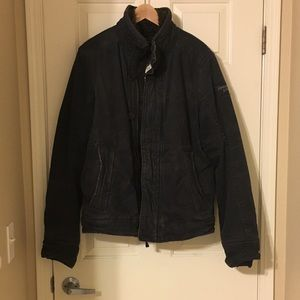 AF coat new without tag! Navy color!