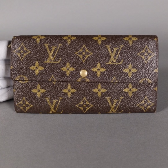 e8c42fa94967 Louis Vuitton Bags   Portefeuille Sarah Long Wallet   Poshmark
