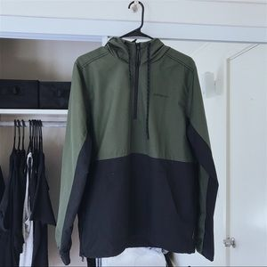 Adidas Army Green Wind Jacket Size S