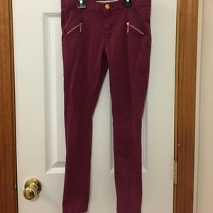 Other - Girls cranberry skinny jeans