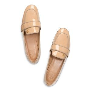 Tory Burch Evette Patent Loafer in Nude