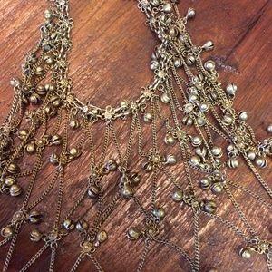 Vintage Jewelry - GYPSY BELL Belly Dance Jingle Necklace